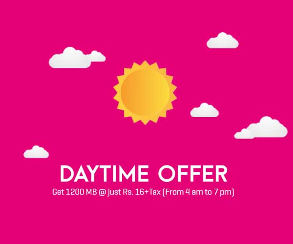 Internet Daytime Offer