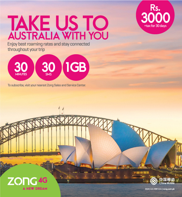 australia roaming bundle