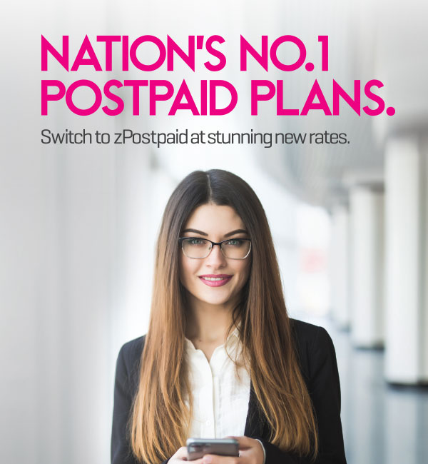all z postpaid packages