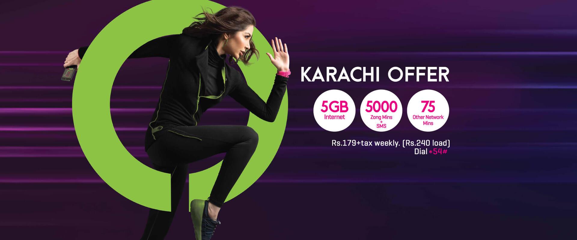 haftawar karachi offer zong