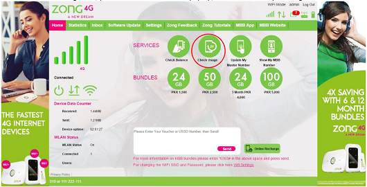 Mobile Broadband FAQs – Zong Internet Devices